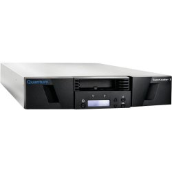 Quantum - EC-LLHAE-YF - Quantum SuperLoader 3 EC-LLHAE-YF LTO Ultrium 5 Tape Library - 8 x Slot - - (Compressed)504 MB/s (Native) / 1.01 GB/s (Compressed) - SAS - Barcode Reader - 2U - Rack-mountableRack-mountable
