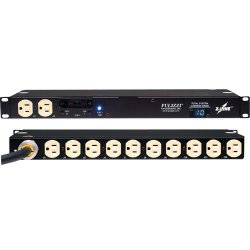 Eaton Electrical - T982F2-F-SL-115 - Powerware ePDU T982F2-F-SL-115 12-Outlets 5.76kVA PDU - 12 x NEMA 6-20R - 5.76 kVA - Network (RJ-45) - 1U - Horizontal Rackmount