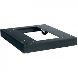 Middle Atlantic Products - CBSDRK36 - Middle Atlantic Products Caster Base - Steel, Rubber