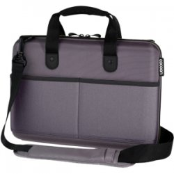 "Cocoon Innovations - CPS365GY - Cocoon CPS365GY Carrying Case (Attaché) for 13"" Notebook - Gun Gray - Ethylene Vinyl Acetate (EVA) - 10.8"" Height x 3.2"" Width x 14.5"" Depth"