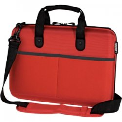 "Cocoon Innovations - CPS365RD - Cocoon CPS365RD Carrying Case (Attaché) for 13"" Notebook - Racing Red - Ethylene Vinyl Acetate (EVA) - 10.8"" Height x 3.2"" Width x 14.5"" Depth"