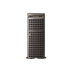 "Supermicro - CSE-747TG-R1400B-SQ - Supermicro SuperChassis SC747TG-R1400B-SQ Chassis - Rack-mountable, Tower - Gray - 4U - 12 x Bay - 4 x Fan(s) Installed - 2 x 1.40 kW - ATX, EATX Motherboard Supported - 72 lb - 3 x External 5.25"" Bay - 8 x External 3.5"""