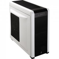 "Corsair - CC-9011012-WW - Corsair Carbide 500R System Cabinet - Mid-tower - Black - Steel, Plastic - 10 x Bay - 4 x Fan(s) Installed - ATX, µATX Motherboard Supported - 10 x Fan(s) Supported - 4 x External 5.25"" Bay - 6 x Internal 3.5"" Bay - 8x"