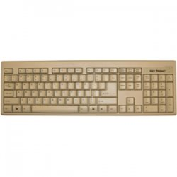 Keytronic - KT400P1 - Keytronic KT400 Keyboard - PS/2 - Beige