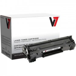 V7 - V735A - Black Toner Cartridge For HP LaserJet P1002, P1003, P1004, P1005, P1006, P100