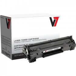 V7 - V736A - Black Toner Cartridge For HP LaserJet M1120, M1522, M1522N, M1522N MFP, M1522
