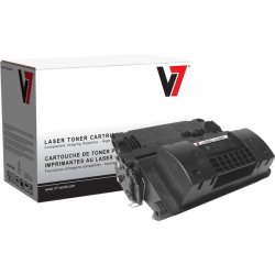 V7 - V764X - V7 Black High Yield Toner Cartridge for HP LaserJet - Laser - High Yield - 24000 Pages