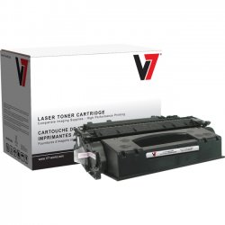 V7 - V705X - V7 Black High Yield Toner Cartridge for HP LaserJet - Laser - High Yield - 6500 Page