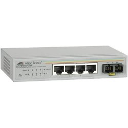 Allied Telesis - AT-FS705EFC/SC-60 - Allied Telesis AT-FS705EFC Unmanaged Fast Ethernet Switch - 4 x Fast Ethernet Network, 1 x Fast Ethernet Uplink - 2 Layer Supported