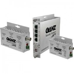 CBC (America) / Computar - GLFE4EOC - Ganz Ethernet-over-Copper Extender With Pass-Through PoE - 4 x Network (RJ-45) - Fast Ethernet - 10/100Base-TX - Rail-mountable