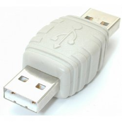 StarTech - GCUSBAAMM - StarTech.com USB A to USB A Cable Adapter M/M - 1 x Type A Male USB - 1 x Type A Male USB - White