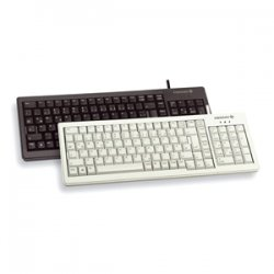 Cherry - G84-5200LCMEU-2 - Cherry XS G84-5200 Complete Keyboard - PS/2, USB - 103 Keys - Black - English (US)