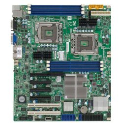 Supermicro - X8DTL-6F-O - Supermicro X8DTL-6F Server Motherboard - Intel 5500 Chipset - Socket B LGA-1366 - Retail Pack - ATX - 2 x Processor Support - 48 GB DDR3 SDRAM Maximum RAM - 1.33 GHz Memory Speed Supported - 6 x Memory Slots - Serial Attached