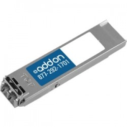 AddOn - XFP-10G-L-OC192-SR1A - AddOn Juniper Networks XFP-10G-L-OC192-SR1 Compatible 10GBase-LR XFP Transceiver (SMF, 1310nm, 10km, LC, DOM) - 100% application tested and guaranteed compatible
