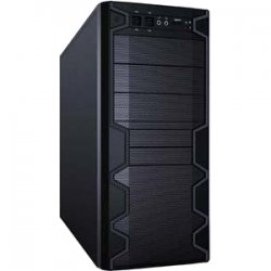 "Apex Computer Technology - VORTEX3620 - Apex Vortex 3620 Chassis - Mid-tower - Black - 10 x Bay - ATX, µATX Motherboard Supported - 3 x Fan(s) Supported - 3 x External 5.25"" Bay - 2 x External 3.5"" Bay - 5 x Internal 3.5"" Bay - 7x Slot(s) - 4 x"