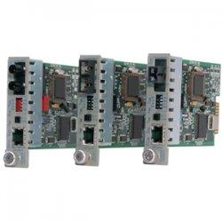 Omnitron - 8380-0-W - iConverter 10/100 Ethernet Fiber Media Converter RJ45 ST Multimode 5km Module Wide Temp - 1 x 10/100BASE-TX; 1 x 100BASE-FX; Internal Module; Lifetime Warranty