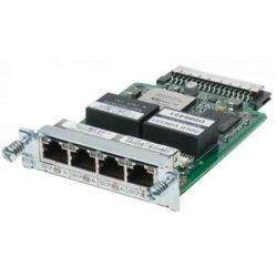 Cisco - HWIC-4T1/E1= - Cisco 4 Port Clear Channel T1/E1 High Speed WAN Interface Card - 4 x T1/E1 WAN2.05 Mbit/s