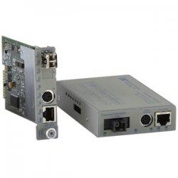 Omnitron - 8901N-1-W - Omnitron Systems iConverter 8901N-1 Fast Ethernet Media Converter - 1 x Network (RJ-45) - 1 x ST Ports - 10/100Base-TX, 100Base-FX - Internal