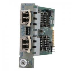 Omnitron - 8599-11 - iConverter 10 Gigabit Ethernet Fiber Media Converter XFP to XFP 10Gbps Module - 2 x XFP (Protocol-Transparent); Internal Module; Lifetime Warranty