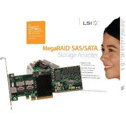 Cisco - R2XX-PL002= - Cisco MegaRAID 8708EM2 8-port SAS RAID Controller - Serial ATA/300 - PCI Express x8 - Plug-in Card - RAID Supported - 0, 1, 5, 6, 10, 50, 60 RAID Level - 2 SAS Port(s)