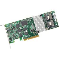 LSI Logic - LSI00212 - LSI Logic MegaRAID 9261-8i SGL 8-port SAS RAID Controller - Serial ATA/600 - PCI Express 2.0 x8 - Plug-in Card - RAID Supported - 0, 1, 5, 6, 10, 50, 60 RAID Level - 2 Total SAS Port(s) - 2 SAS Port(s) Internal