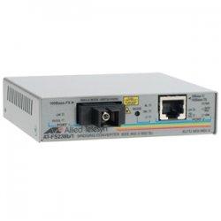 Allied Telesis - AT-FS238B/1-60 - Allied Telesis AT-FS238B/1 Fast Ethernet Media Converter - 1 x Network (RJ-45) - 1 x SC Ports - 10/100Base-TX, 100Base-FX - Rack-mountable, External