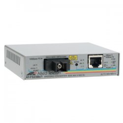 Allied Telesis - AT-FS238A/1-60 - Allied Telesis AT-FS238A/1 Fast Ethernet Media Converter - 1 x Network (RJ-45) - 1 x SC Ports - 10/100Base-TX, 100Base-FX - External, Rack-mountable