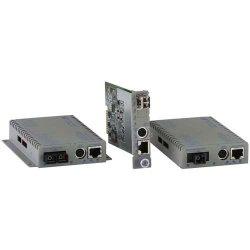 Omnitron - 8927N-2 - Omnitron Systems iConverter 8927N-2 Media Converter - 1 x Network (RJ-45) - 1 x LC Ports - DuplexLC Port - 10/100/1000Base-T, 1000Base-X - Internal