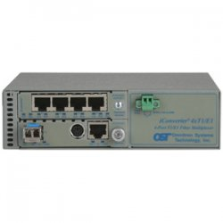 Omnitron - 8830N-2-B - Omnitron Systems iConverter 8830N-2 T1/E1 Multiplexer - 1 Gbit/s