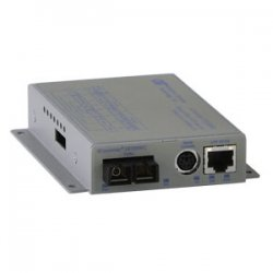 Omnitron - 8902N-0-D-W - Omnitron Systems iConverter 8902N-0 Fast Ethernet Media Converter - 1 x Network (RJ-45) - 1 x ST Ports - 10/100Base-TX, 100Base-FX - Wall Mountable, External