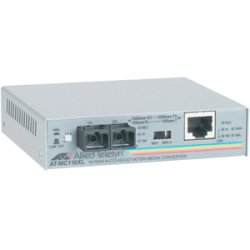 Allied Telesis - AT-MC116XL-60 - Allied Telesis AT-MC116XL Fast Ethernet Media Converter - 1 x Network (RJ-45) - 1 x SC Ports - 10/100Base-TX, 10Base-FL, 100Base-SX - External, Wall Mountable, Rack-mountable