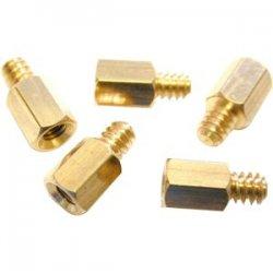 StarTech - SCREWNUTM - StarTech.com PC Mounting #6-32 to M3 Metal Jack Screw 50 Pack - Jackscrew Standoff - 50 / Pack