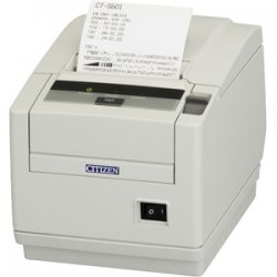 "Citizen - CT-S601S3PAUWHP - Citizen CT-S601 Direct Thermal Printer - Monochrome - Desktop - Receipt Print - 3.15"" Print Width - 7.87 in/s Mono - 203 dpi - 384 KB - Parallel - LCD"