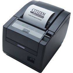 "Citizen - CT-S601SETUBKP - Citizen CT-S601 Direct Thermal Printer - Monochrome - Desktop - Receipt Print - 3.15"" Print Width - 7.87 in/s Mono - 203 dpi - Ethernet - LCD"