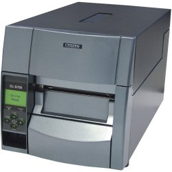 "Citizen - CL-S700-EP - Citizen Direct Thermal/Thermal Transfer Printer - Monochrome - Desktop - Label Print - 4.10"" Print Width - Peel Facility - 10 in/s Mono - 203 dpi - 16 MB - USB - Serial - Parallel - Ethernet - LCD - 4.65"" Label Width - 32"" Label"