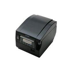 "Citizen - CT-S851S3ETUBKP - Citizen CT-S851 Direct Thermal Printer - Monochrome - Desktop - Label Print - 3.15"" Print Width - 11.81 in/s Mono - 203 dpi - 4 KB - USB - Ethernet - LCD - 3.25"" Label Width"