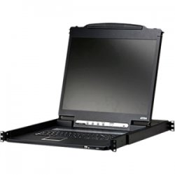 Aten Technologies - CL3000N - Aten CL3000N Rack Mount LCD - 1 Computer(s) - 19 - 1280 x 1024 - 2 x PS/2 Port - 3 x USB - Mouse
