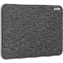 Incase Designs - CL60638 - Incase Icon Carrying Case (Sleeve) for 13 MacBook Air - Black Heather, Gray - Impact Absorbing, Shock Absorbing - Neoprene