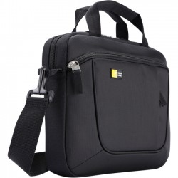 Case Logic - AUA-311BLACK - Case Logic Carrying Case for 11 Notebook, iPad, Tablet - Black - Polyester - Luggage Strap, Shoulder Strap, Handle - 9.8 Height x 12.8 Width x 2.4 Depth