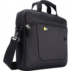 Case Logic - AUA-314BLACK - Case Logic Carrying Case for 14.1 Notebook, iPad - Black - Polyester - Luggage Strap, Shoulder Strap, Handle - 11.4 Height x 14.6 Width x 2.8 Depth