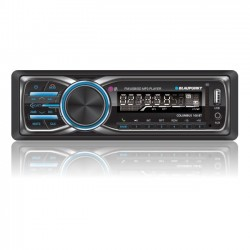 Ematic - CLM100BT - Blaupunkt Columbus CLM100BT Car Flash Audio Player - 20 W RMS - MP3 - FM - 18 x FM Preset - SD - Bluetooth - USB - Auxiliary Input