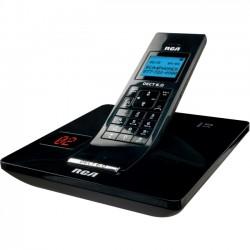 RCA - 2132-1BKGA - RCA(R) 2132-1BKGA DECT 6.0 Digital Cordless Phone with Caller ID & Digital Answering System (Single-Handset System)