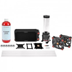 Thermaltake - CL-W128-CA12RE-A - Thermaltake Pacific RL240 D5 Hard Tube Water Cooling Kit