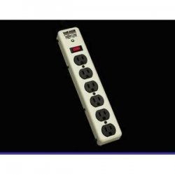 Tripp Lite - PM6NS - Tripp Lite Waber Surge Protector Power Strip Metal 6 Outlet 6' Cord - Receptacles: 6 x NEMA 5-15R - 900J