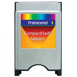 Transcend - TS0MCF2PC - Transcend CompactFlash Adapter - CompactFlash Type I
