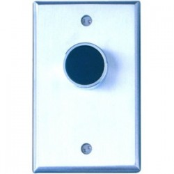 Camden Door Controls - CM-7000/G - Camden eXpress CM-7000G Push Button - Single Gang - Green - Aluminum - For Indoor/Outdoor