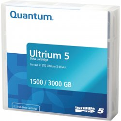 Quantum - MR-L5MQN-01 - Quantum MR-L5MQN-01 Data Cartridge - LTO-5 - 1.50 TB (Native) / 3 TB (Compressed) - 1 Pack