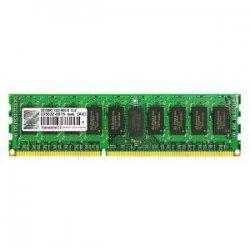 Transcend - TS512MKR72V3T - Transcend 4GB DDR3 SDRAM Memory Module - 4GB (1 x 4GB) - 1333MHz DDR3-1333/PC3-10600 - ECC - DDR3 SDRAM - 240-pin DIMM