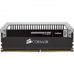 Corsair - CMD16GX4M4A2800C16 - Corsair Dominator Platinum 16GB DDR4 SDRAM Memory Module - 16 GB (4 x 4 GB) - DDR4 SDRAM - 2800 MHz - 1.20 V - Unbuffered - 288-pin - DIMM