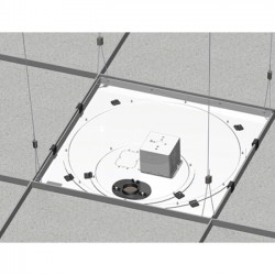 Chief - CMS445N - Chief Speed-Connect CMS445N Ceiling Mount for Projector - 50 lb Load Capacity - White